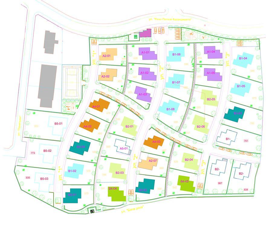 План на комплекса